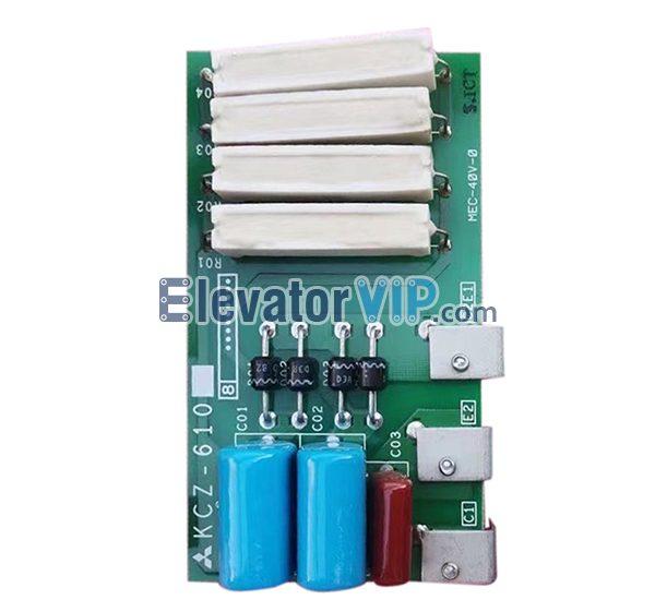Mitsubishi Elevator High Voltage Absorption Board, Mitsubishi GPS-II Lift Protection PCB, GPS-CR Motherboard, KCZ-610, KCZ-620, KCZ-621