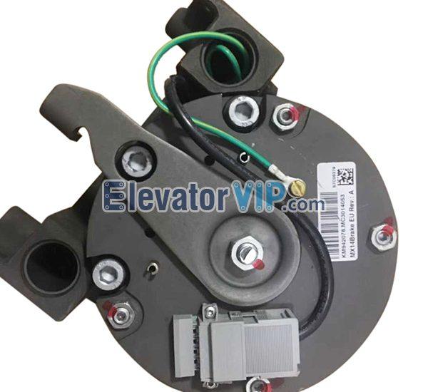 KM942078G01, KM942078, KM955141, KONE Elevator Tractor Brake, KONE Lift Drive Brake Coil, KONE MX14 Machine Brake, KONE Elevator Traction Machine Brake Supplier