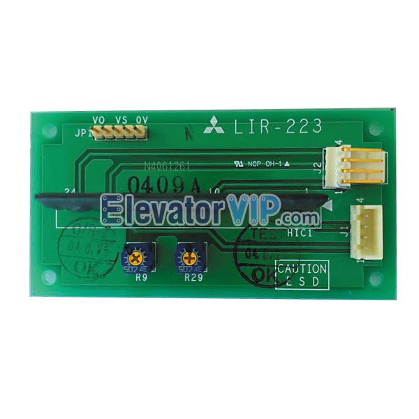Mitsubishi Elevator Overload Board, Mitsubishi Lift Weighing Device PCB, Elevator Overload Motherboard, Elevator Weighing Device Board, LIR-223