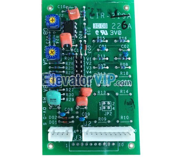 Mitsubishi Elevator Weighing Device PCB, Mitsubishi Elevator Overload Board, LIR-226A, LIR-218A, LIR-219A, LIR-220A