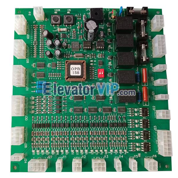 LG-SIGMA Elevator Cabin Connector PCB, Sigma Lift COP Communication Board, OPB-101, OPB-100