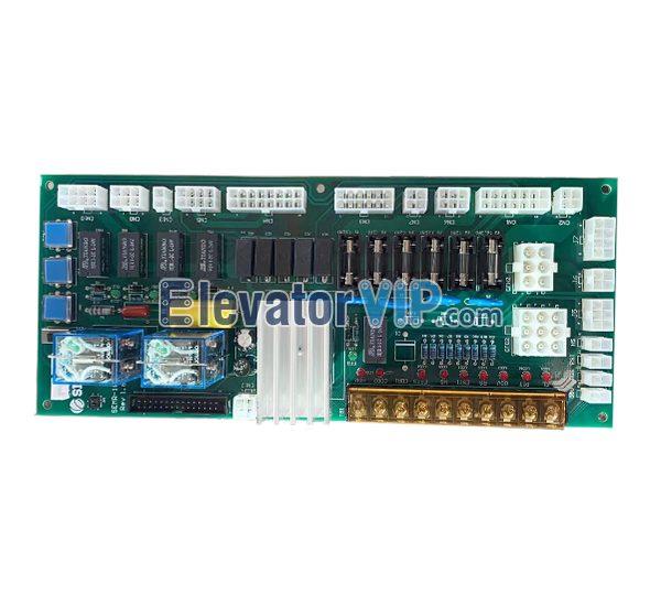 Sigma Elevator Parts PCB, LG/SEMR-100, REV1.6/1.2/1.3, Sigma LG Elevator Power Board