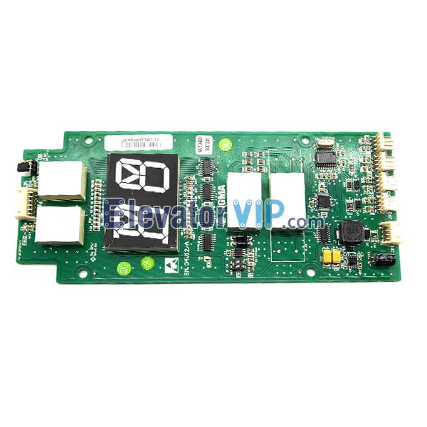 Sigma Display Board, SM.04V12/A, A3N49859, Sigma elevator parts PCB