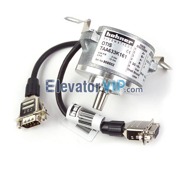 TAA633K161, TAA633K151, TAA633H121, TAA633K102, Otis Elevator Main Encoder, Lift Traction Machine Encoder, Elevator Traction Drive Rotary Encoder, Elevator Encoder Supplier
