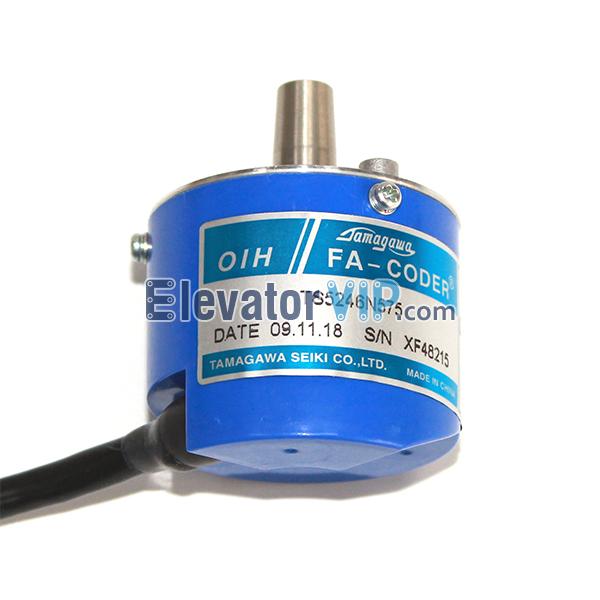 OTIS Elevator Rotary Encoder, TAMAGAWA Encoder, TS5246N575, DAA633K4 K8A, DAA633K1, DAA633K2