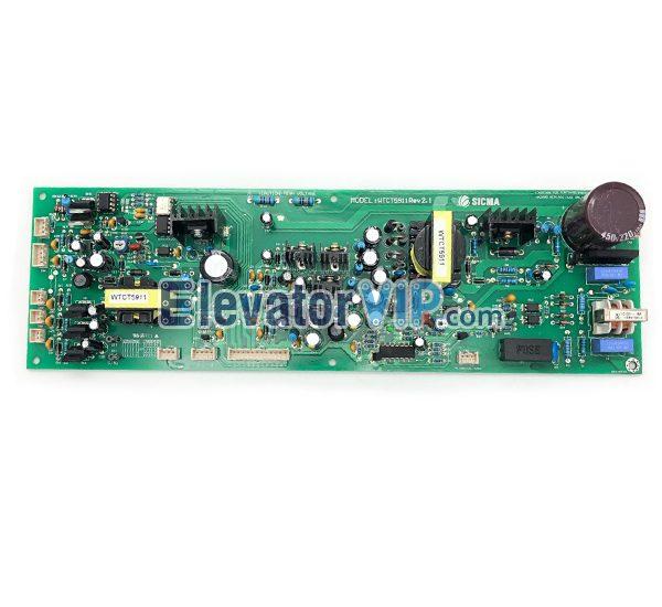 LG Sigma Elevator Power Supply Drive Board, Sigma Lift Drive Power PCB, WTCT5911