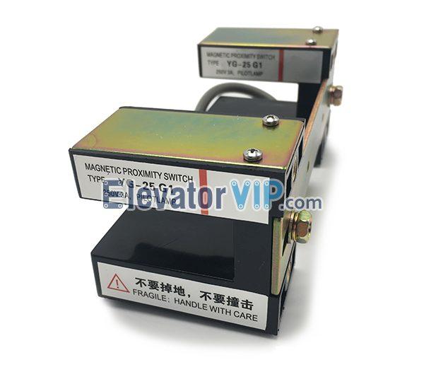 Mitsubishi Elevator Leveling Sensor, Mitsubishi Lift Magnetic Proximity Switch, YG-25G1, YG-28