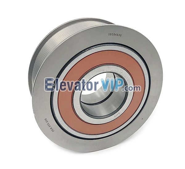 5500 Elevator Fl Pulley, PMB140, PV50 Pulley, Elevator Steel Belt Pulley, 59384630