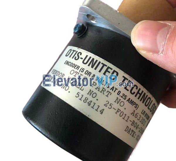 OTIS Elevator Rotary Encoder, Lift Encoder Supplier, A633d1, E411 Encoder