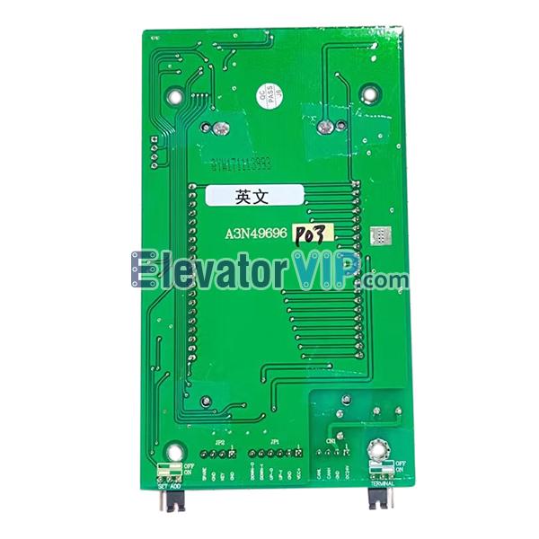 OTIS Sigma Elevator LOP Display PCB, Sigma Lift LOP Indicator, A3J49695, A3N49696, Sigma Elevator HOP LCD Display