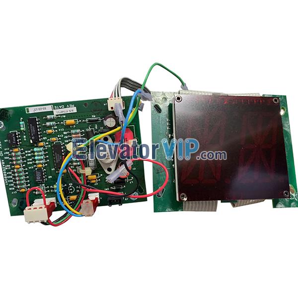 OTIS E411 Elevator Digital Position Indictor, OTIS Lift COP Display Board, OTIS Elevator Cabin Display PCB, ABA26800GN1, ABA610GN, ABA26800GP1