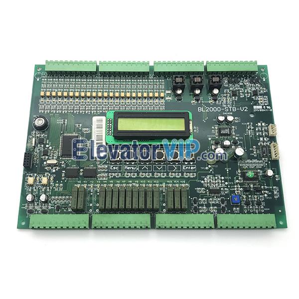 Bluelight Elevator Control Board, BL-2000-STB-V2, BL2000-STB-V9.0, BL2000-STB-V6.0, BL2000-STB, FJ-MB2, FR2000