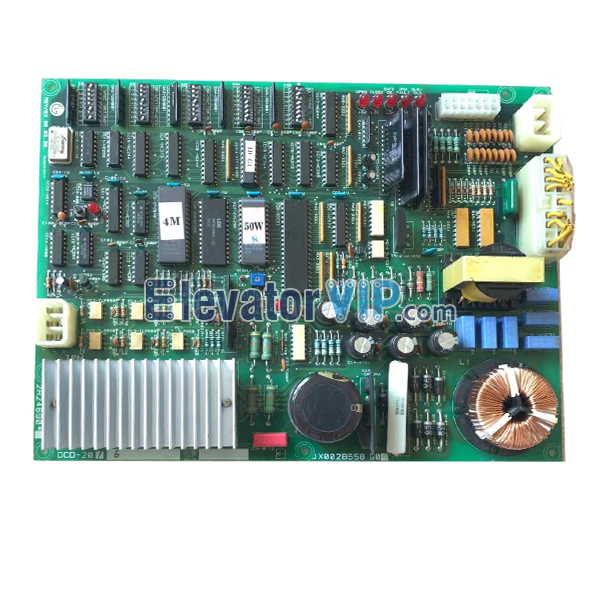 DCD-201, DCD-200, DCD-230, DCD-220, 2R24690, JX002B658 G0, Sigma Elevator Door Motor Control Board, LG OTIS Elevator Door Operator PCB
