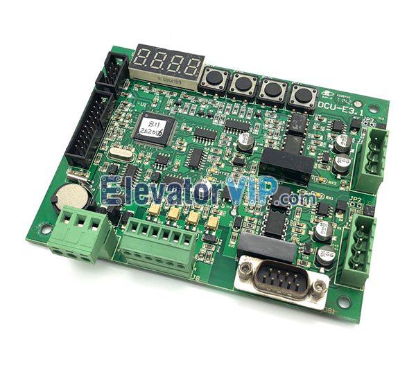 ThyssenKrupp Elevator Communication Board, DCU-E3.1, E220742