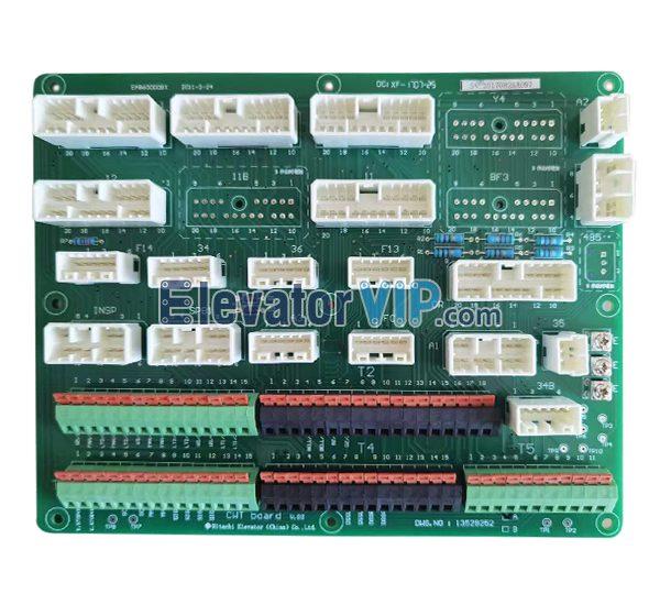Hitachi MCA Elevator CWT Board, Hitachi Lift Car Top Connection Board, DWG.NO13529252