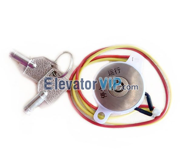 OTIS Elevator Base Station Lock, OTIS Lift Ladder Base Station Lock, Elevator LOP Key Switch