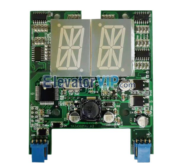 OTIS 2000 HPI15 Hall Display, OTIS Elevator LOP Display Board, OTIS Lift HOP Indicator PCB, OTIS HPI 15 Display, OTIS Elevator GEN2 Indicator, FAA23600AB1