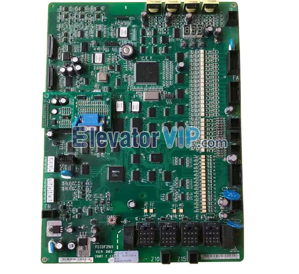 Hitachi GVF Elevator Board, Hitachi Lift HGP PCB, FECDF21U1, MCUB01, MCUB02, FECD3U1
