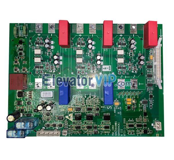 OTIS Elevator 406 Inverter Drive Board, PBX_CONV, GAA26800MB1, GAA26800MB2, GAA610ACK1