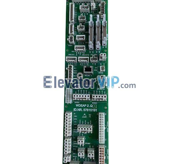 Elevator Control PCB, WDEAP 2.Q, ID.NR.57815191
