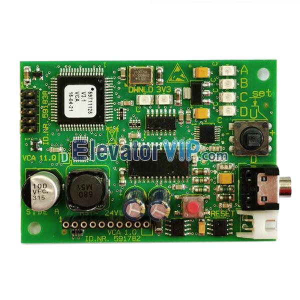3300 3600 Elevator VCA 1.Q Board, SDT24B-71/75, ID.NR.591782, ID.NR.591838
