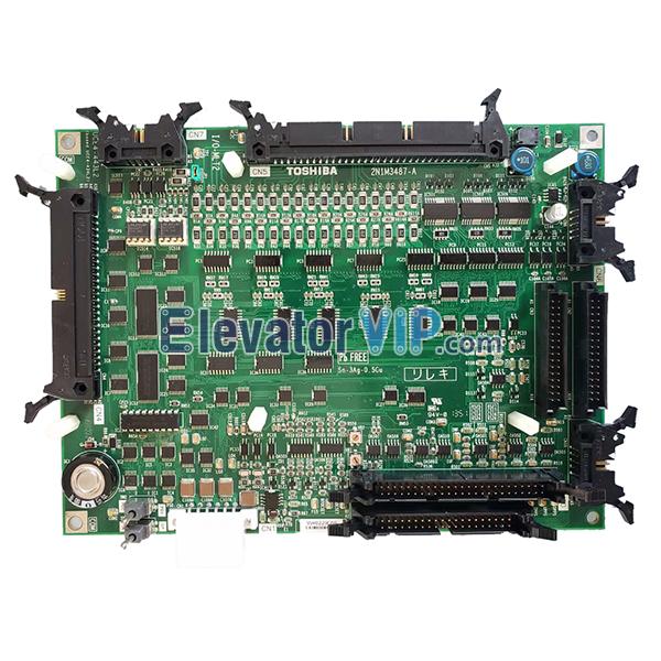 Toshiba Elevator PU Board, I/O-MLT2, 2N1M3487-A, UCE1-533C7, UCE4-443L2