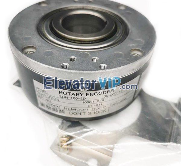 OTIS Elevator Drive Rotary Encoder, OTIS Lift Encoder, JAB633ACD1, JAA633ABK1, JAA633ABK2, SBH-100-3D
