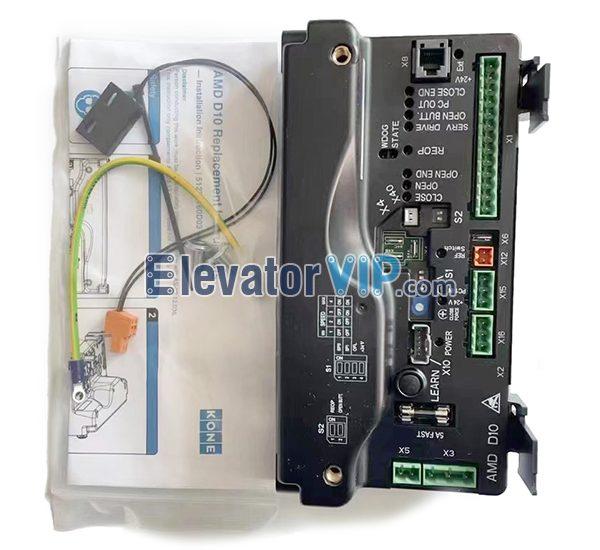 KONE Elevator AMD D10 Door Controller, KONE Elevator AMD Door PCB Board, KONE Lift Parallel Door Operator Controller, KM51222157G01, KM606040G01