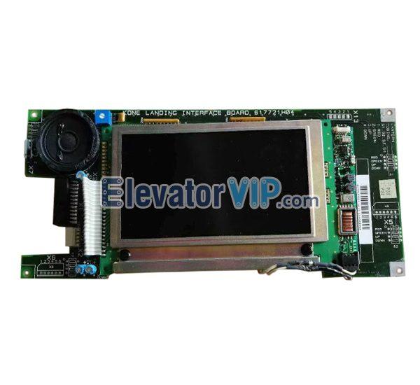 KONE 7000 Elevator Landing Interface Board, KONE Elevator LCD Display, 617721H04, KM617718G01