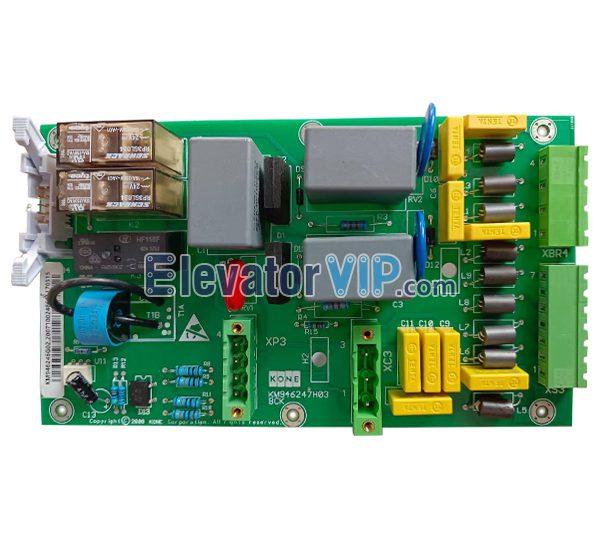 KONE Elevator KDL16R Inverter A3 Board, KONE Lift KDL16R Drive BCK PCB, KONE V3F16L Brake Control Board, KM946246G02, KM946247H03