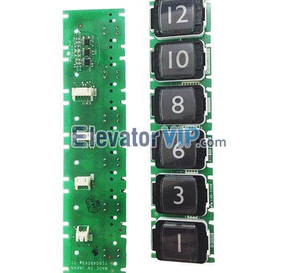Mitsubishi Elevator Push Button, Mitsubishi LOP Push Button, Mitsubishi COP Lift Push Button, LHB-056B G06, Elevator Push Button Supplier