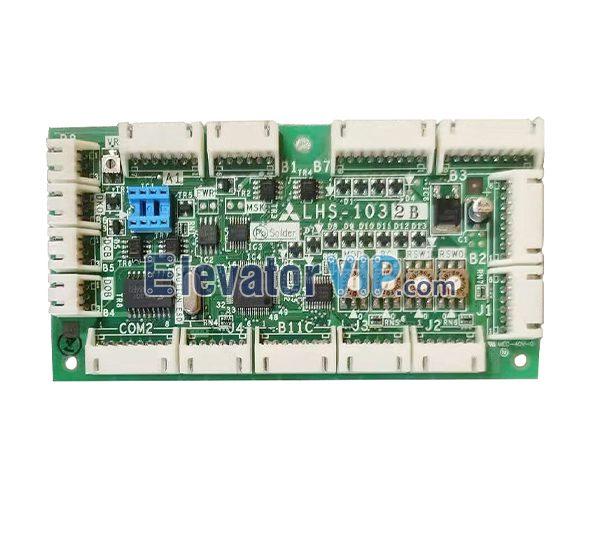 Mitsubishi Elevator COP Board, Mitsubishi Lift Cabin Command PCB, LHS-1032B, LHS-1032A, LHS-1032