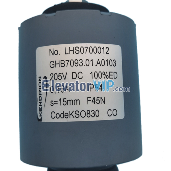 OTIS Escalator Push-Pull Solenoid, Escalator Brake Magnet, Escalator Electromagnetic Brake Coil, LHS0700012, DAA330AW1, GHB7093.01.A0103