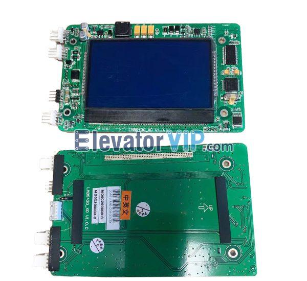 Xizi Otis Elevator Outbound Indicator, Otis Elevator 4.3 inch LCD Display PCB, Otis Lift HOP Indicator, OTIS Elevator LOP Display, LMBS430-XO, HPIB430VRB-1