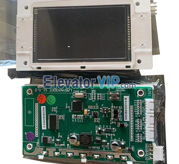 Elevator Indicator Board, Elevator Display PCB, LMSYN430DT, SYNEY-HCB-430