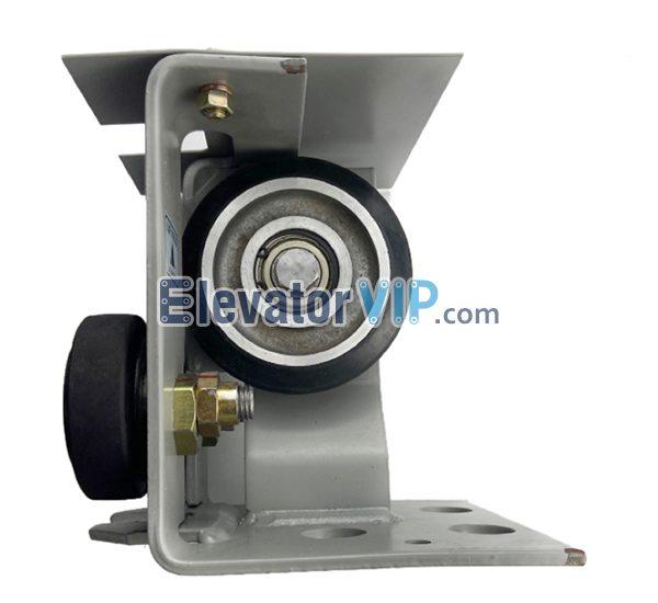 Mitsubishi Elevator Counterweight Roller Guide Shoe, Thyssen Lift Roller Guide Shoe, LUR76EG01, LUR76EG02, LUR76EG04, LUR76E13, Roller 114*32*6203, 76*27*6203 Roller