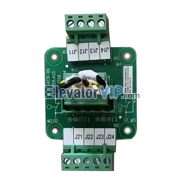 Monarch Elevator Bypass Interface Board, Monarch Lift Plug-in PCB, MCTC-KCB-B6