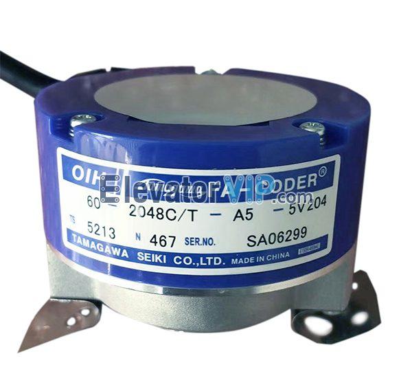 OIH Elevator Encoder, OIH60-2048C, Elevator Tractor Encoder Supplier, TS5213N467, TS5213N460, TS5213N480