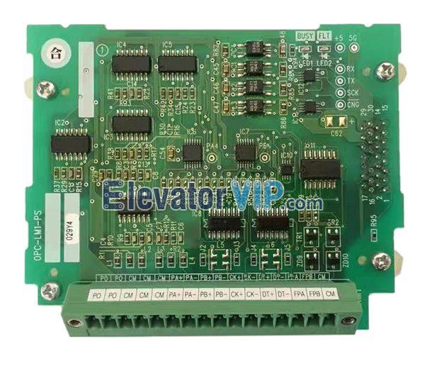 Fuji Elevator Inverter Synchronus PG Card, FUJI Drive Card, OPC-LM1-PS, OPC-LM1-PP, OPC-LM1-PR, SA537347-02, FRN11LM1S-4C PG Card