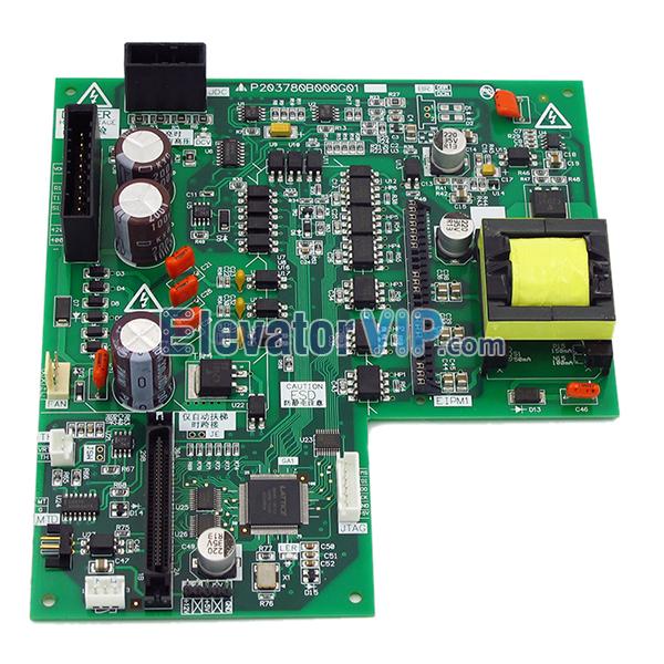 Mitsubishi HOPE2 Elevator Drive Board, Mitsubishi Lift Control Cabinet Drive Board, P203709B000G01, P203780B000G01, P203781B000G01