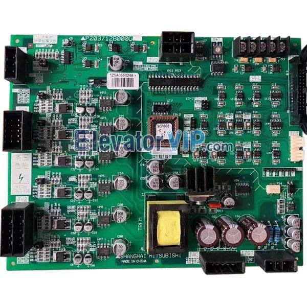 Mitsubishi Elevator HOPE-2 Drive PCB, Mitsubishi Lift E1 Drive Board, P203712B000G01