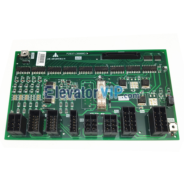 Mitsubishi Elevator W1 Interface Board, P203713B000G11, P203713B000G12, P203713B000G01, P203713B000G21