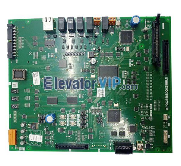 Mitsubishi Elevator P1 PCB, P203758B000G01, P203758B000G02, P203758B000G03, P203758B000G05, P203758B000G08