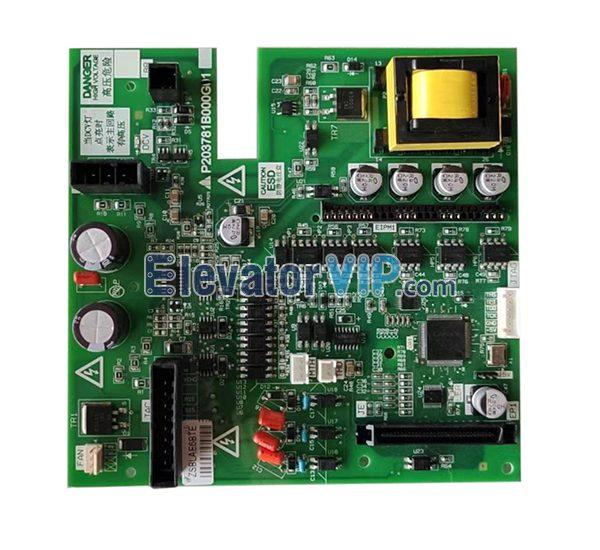 Mitsubishi Elevator Control Cabinet Driver Board, P203781B000G01, P203737B000G01, P203737B000G11