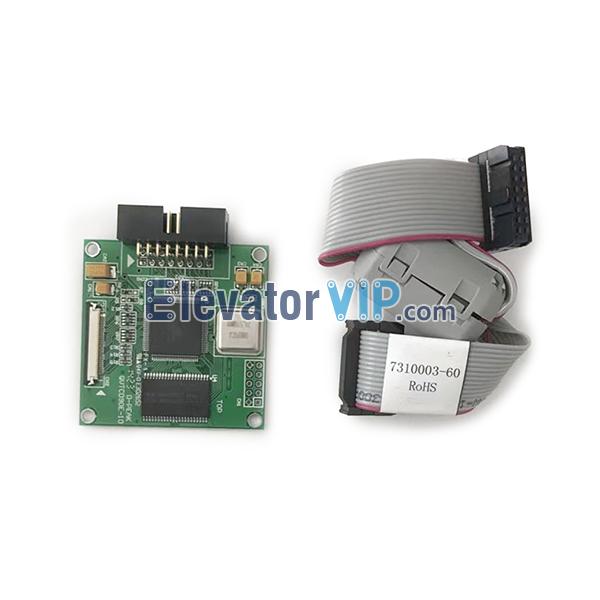 Mitsubishi Elevator LCD Drive Board, Mitsubishi Lift D-PEAK PCB, QVTCD90E-10, DPK-SVTCL90C-10, ZLCDC-009, 7310003-60