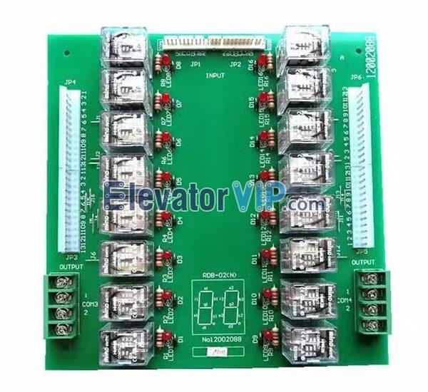 Hitachi RDB Board, Hitachi Elevator Relay PCB, RDB-02(N), 12002088 Motherboard