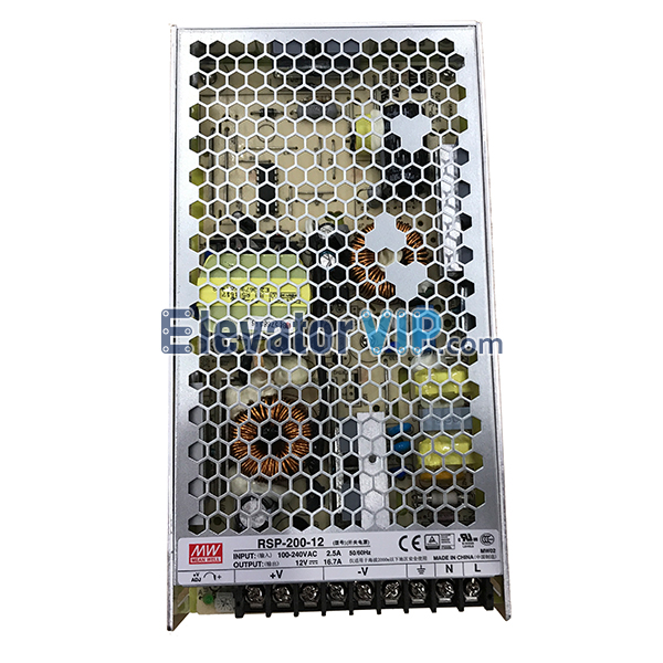 MEAN WELL Switching Power Supply, Elevator Switching Power Supply, RSP-200-27