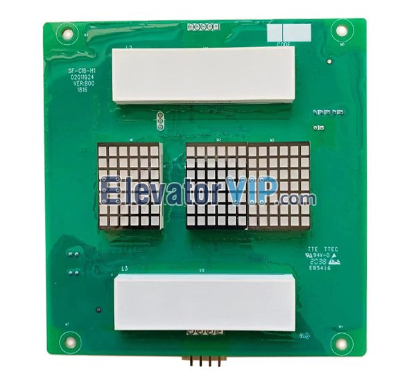 Monarch Elevator Cabin Display Board, Monarch Lift Car Indicator PCB, SF-CIB-H1