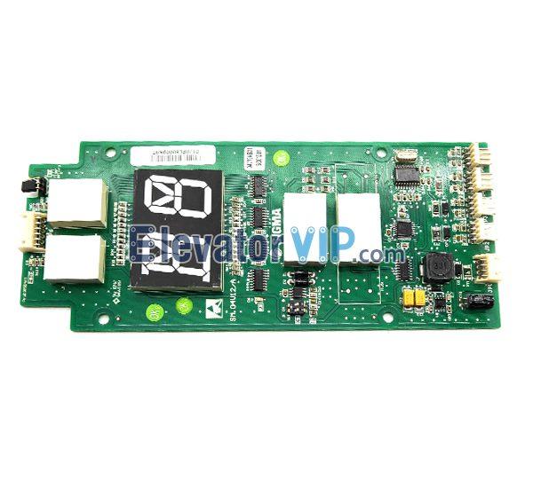 Sigma Elevator HOP Display Board, LG Sigma Elevator LOP Display Board, LG OTIS Lift Hall Indicator, SM.04V12/A, SM.04V12/B, A3J49858, A3N49859