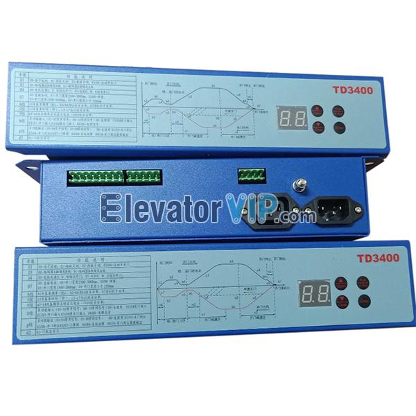 EDUNBURGH Elevator Door Inverter, TD3400 Door Controller, Elevator Door Control Frequency Converter